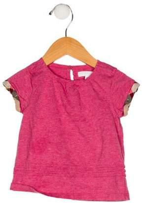 Burberry Girls' Short Sleeve Top Girls' Short Sleeve Top