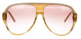 Balenciaga Gradient Aviator Sunglasses