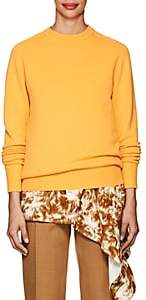 Victoria Beckham Women's Stockinette-Stitched Cashmere Sweater - Yellow