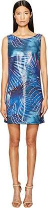 Just Cavalli Women's Tie-Dye Palm Print Dress