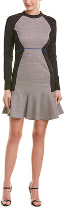 Pinko Houndstooth A-Line Dress