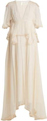 Chloé Layered silk gown