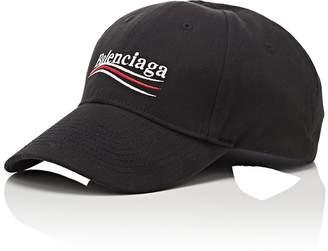 Balenciaga Men's Cotton Twill Baseball Cap