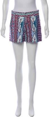 Le Sirenuse Printed High-Rise Shorts