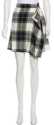 Public School Plaid Knee-Length Skirt