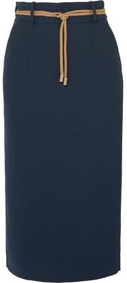 Roksanda Harta Cady Pencil Skirt - Midnight blue