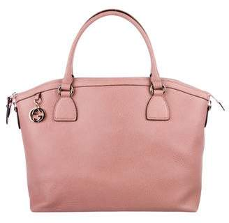 Gucci Charm Dome Satchel