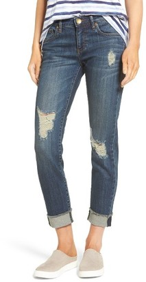 Women's Kut From The Kloth Amy Ripped Straight Leg Jeans $89 thestylecure.com