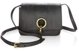 A.L.C. Mini Charlie Snakeskin Crossbody Bag