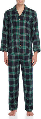 Izod Two-Piece Flannel Pajama Set