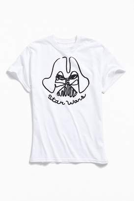 Urban Outfitters Darth Vader Hand Drawn Tee