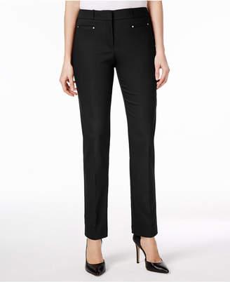JM Collection Petite Slim-Leg Pants