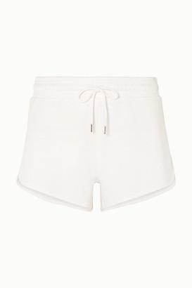 Ninety Percent Organic Cotton-jersey Shorts - White