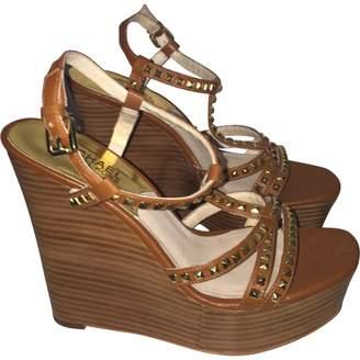 MICHAEL Michael Kors Brown Leather Heels