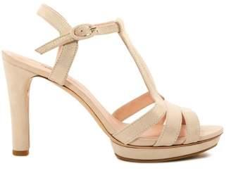 Repetto Bikini Goat Velvet High Heel Sandals