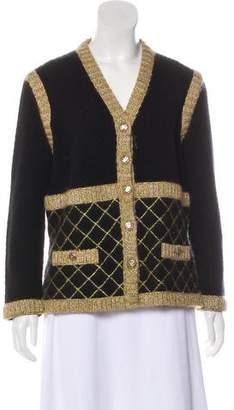 Chanel Silk & Cashmere Cardigan