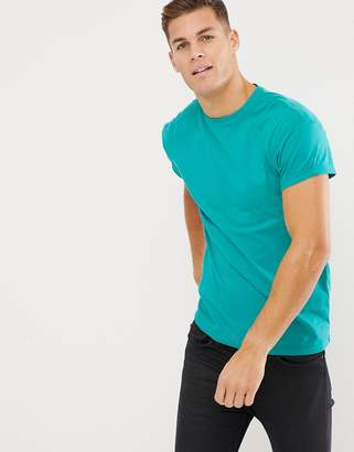 New Look crew neck t-shirt in mint green