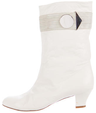 Marc Jacobs Marc Jacobs Leather Mid-Calf Boots