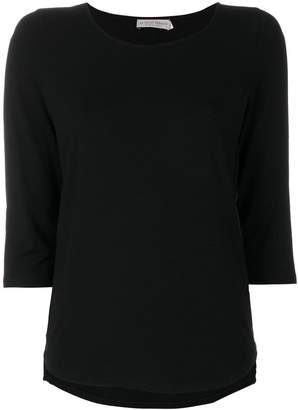 Le Tricot Perugia three-quarter sleeves top