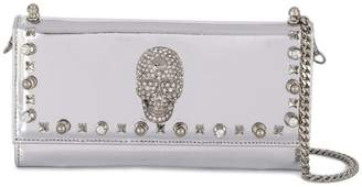 Philipp Plein Studs clutch bag