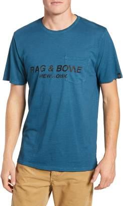Rag & Bone Regular Upside Down Pocket T-Shirt