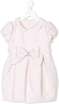 Lapin House bow embellished pleated dress