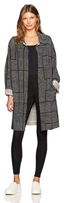 Norma Kamali Women's Trench Bonded