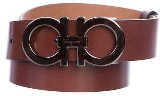 Salvatore Ferragamo Leather Double Belt