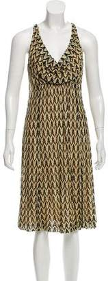 Missoni Draped Chevron Dress