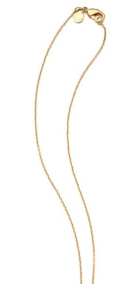 Gorjana Bloom Disc Necklace