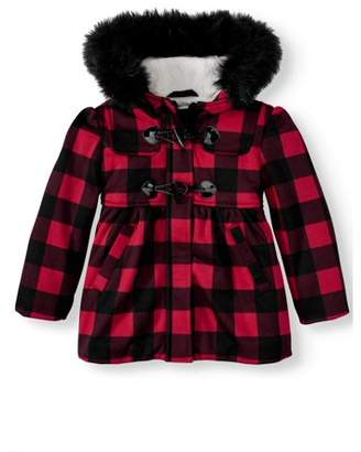 Buffalo David Bitton Bhip BHIP Plaid Fleece Jacket (Toddler Girls)