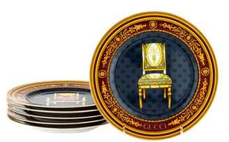 Gucci 6-Piece Chair Plates