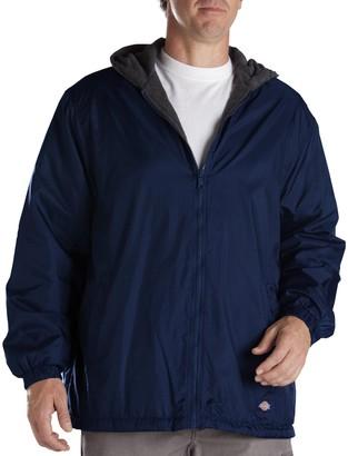 Dickies Men's Fleece-Lined Hooded Jacket