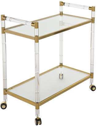 Safavieh Duval Glass Bar Cart