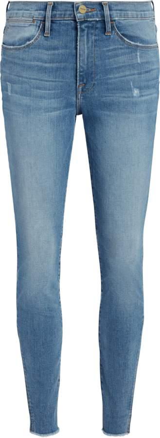 Frame Le High Skinny Gusset Jeans