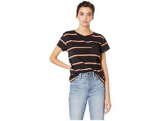 RVCA Big Stripe Short Sleeve Tee