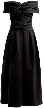 Preen by Thornton Bregazzi Ellie Off The Shoulder Dress - Womens - Black
