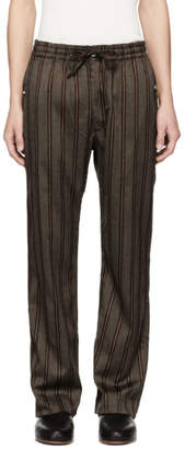 Needles Brown Cowboy String Trousers