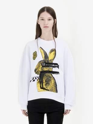 "McQ ""Glitch Bunny"" Oversized Sweatshirt"