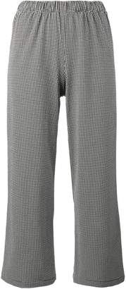 Prism Houndstooth cropped trousers