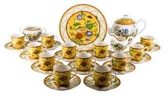 Hermes 28-Piece La Siesta Tea Service