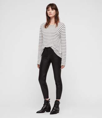 AllSaints Isla Faux Leather Leggings