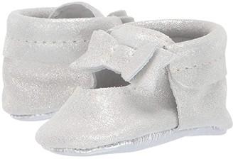 Freshly Picked Glass Slipper Ballet Flat Bow Mocc (Infant/Toddler)