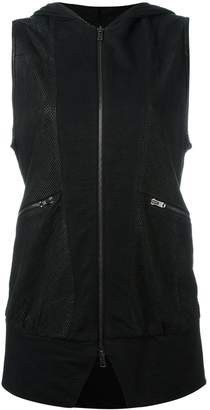 Lost & Found Ria Dunn sleeveless perforated jacket