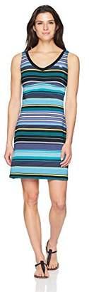 ZeroXposur Women's Race Lace Back Swim Dress