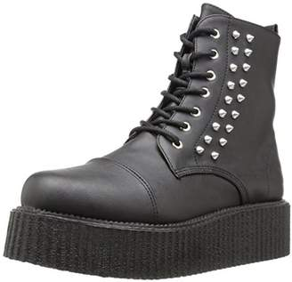 Demonia Men's V-cre573/Bvl Ankle Bootie