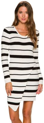 Element Charlette Ribbed Sweater Dress $54.95 thestylecure.com