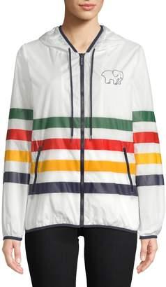 HBC Stripes x Ivory Ella Windbreaker Jacket