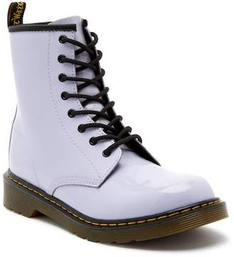 Dr. Martens Delaney Purple Air Wair Boot (Big Kid)