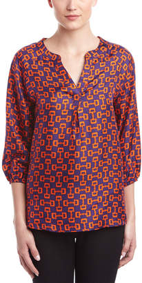 Julie Brown Silk Blouse